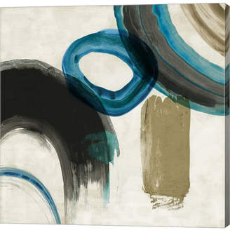 Pi Metaverse Blue Ring Ii By Galerie Canvas Art