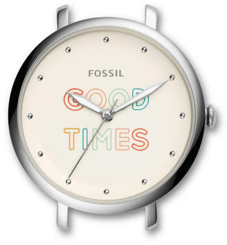 Fossil Jacqueline Three-Hand Date Stainless Steel Watch Case