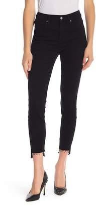 Good American Good Legs Raw Hem Jeans