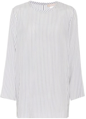 Max Mara S Valzer striped silk top