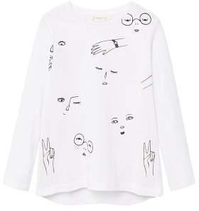 MANGO Printed image t-shirt
