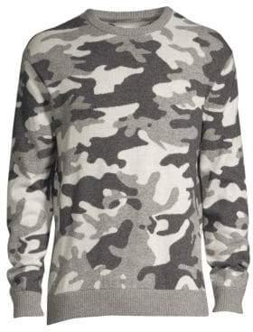 Greyson Camowolf Wool& Cashmere Sweater