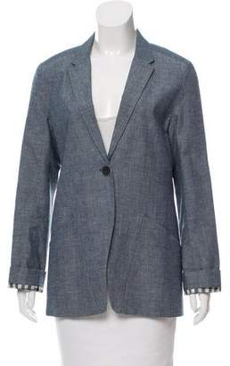 Rogan Long Sleeve Notch-Lapel Blazer