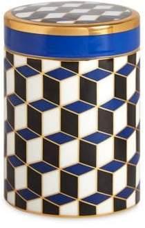 Jonathan Adler Versailles Porcelain Geometric Canister