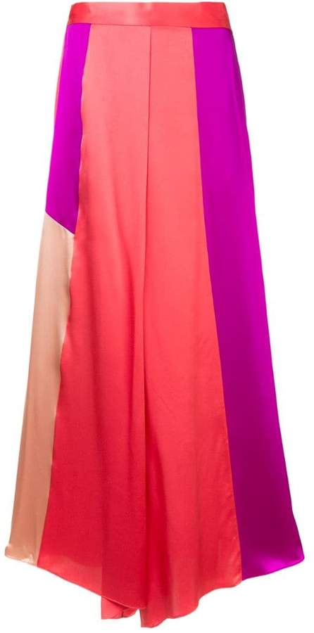 Layeur high rise palazzo trousers