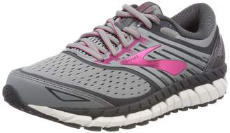 Brooks Women's Ariel '18 2E Running Shoe (BRK-120271 2E 4079850 7 Gry/Gry/PNK)