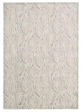 Kathy Ireland Home Hollywood Shimmer Paradise Cove Rug Collection- Light Grey