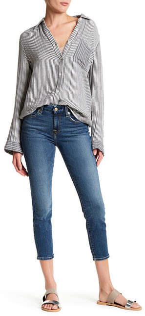 7 For All Mankind7 For All Mankind Karah Crop Jean
