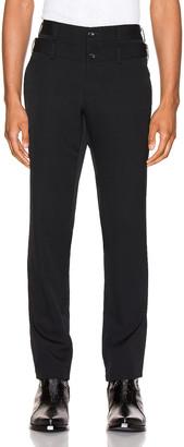Comme des Garcons Pants in Black | FWRD
