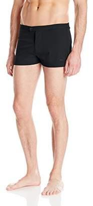 Parke & Ronen Men's Lancaster Solid 2 inch Swim Short