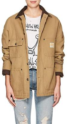 R 13 Women's Workmen Cotton Canvas Jacket