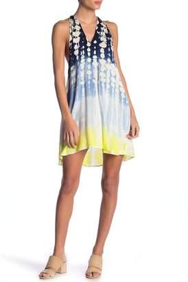 Young Fabulous & Broke Natasha Ombre Sleeveless Swing Dress