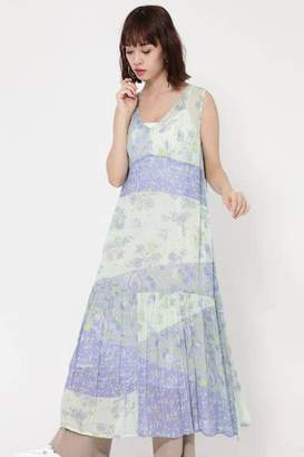Rose Bud (ローズ バッド) - Rose Bud MULTI FLOWER PANEL DRESS