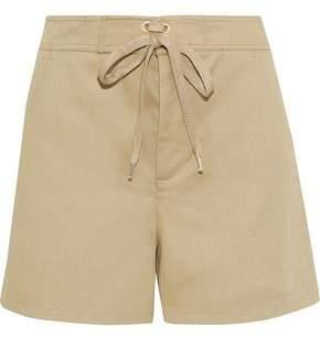 RED Valentino Cotton-blend Twill Shorts