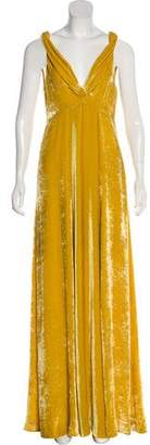 Dries Van Noten Velvet Maxi Dress w/ Tags