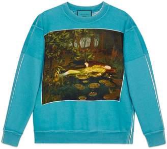 Gucci Oversize sweatshirt with Bugs Bunny