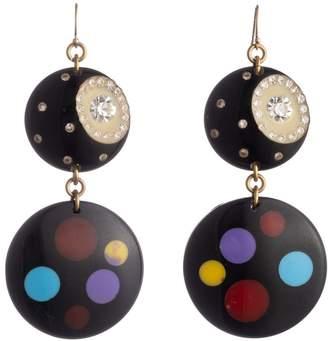 Lulu Frost Vintage Polka Dot Party Earrings