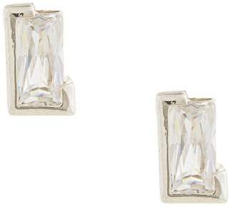 E.m. cut out earrings
