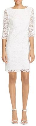 Lauren Ralph Lauren Scallop Lace Shift Dress - 100% Exclusive $245 thestylecure.com