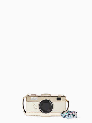 Kate Spade Camera folio with daisy strap iphone x case