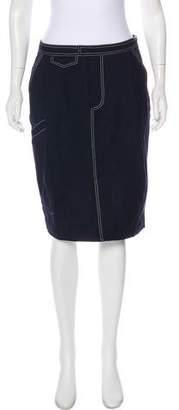 Band Of Outsiders Wool Knee-Length Skirt