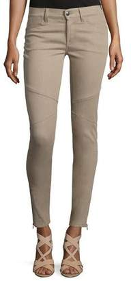 Ralph Lauren Collection 400 Matchstick Ankle Jeans, Taupe $650 thestylecure.com