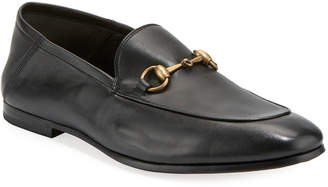 Gucci Brixton Soft Leather Bit-Strap Loafer