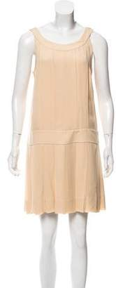 Marc by Marc Jacobs Pleated Silk Dress