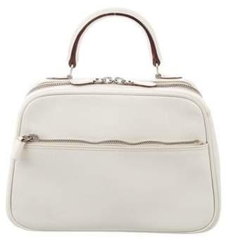 Valextra Leather S-Bag Satchel