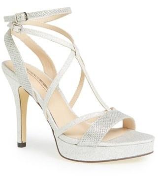 Women's Menbur 'Algar' Glitter Platform Sandal $139.95 thestylecure.com