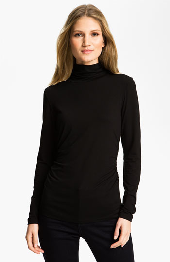 Chaus Scrunch Neck Top