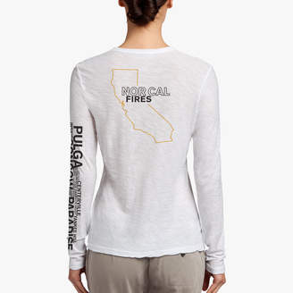 James Perse NOR CAL FIRE RELIEF TEE