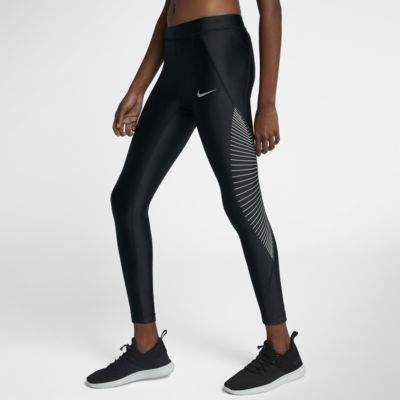 Nike Nike Speed Women's Running Tights Size XS (Black) - Clearance Sale