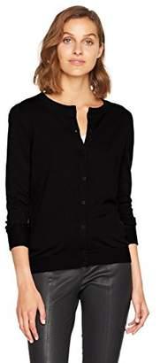BOSS Women's Issyana 10201036 01 Cardigan, (Black 001), Small