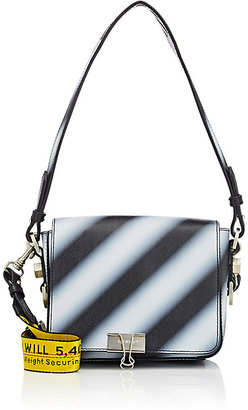 Off-White c/o Virgil Abloh Women's Striped Small Crossbody Bag $1,315 thestylecure.com