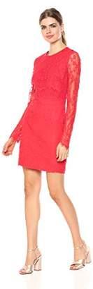 Wild Meadow Women's Stretch Lace Mini Dress L