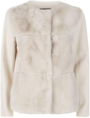 Max Mara Rabbit Fur Jacket