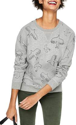 Boden Arabella Drop Shoulder Sweatshirt