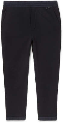Prada Slim-Fit Tapered Nylon-Trimmed Loopback Cotton-Jersey Sweatpants