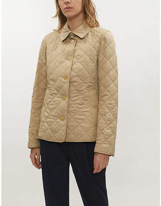 Burberry Frankby quilted shell jacket