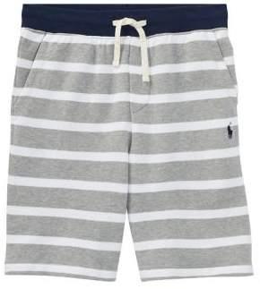 Boy's Striped Cotton Shorts