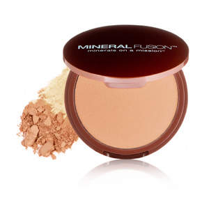 Mineral Fusion Pressed Powder Foundation - Deep 1