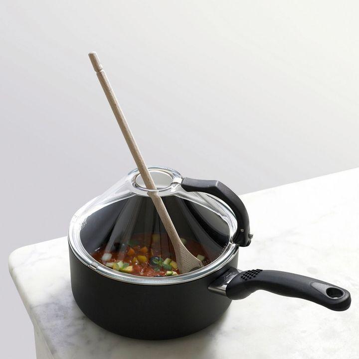 BallariniBallarini Sughiera 2.7-Quart Glass Covered Saucepot