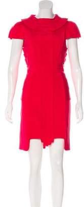 Temperley London Ruffled Silk-Blend Dress