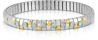 Nomination Stainless Steel Women's Bracelet w/Blue Topaz Beads