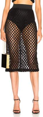 Dolce & Gabbana Knit Midi Skirt