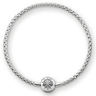 Thomas Sabo Women-Bracelet Karma Beads 925 Sterling Silver black Length 20 cm KA0003-653-11-L21 pyKBCN