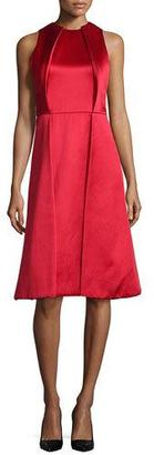 Jason Wu Sleeveless Twill Pleated-Front Dress $3,495 thestylecure.com