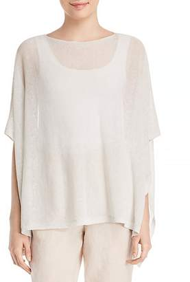 Eileen Fisher Sheer Shimmer Poncho