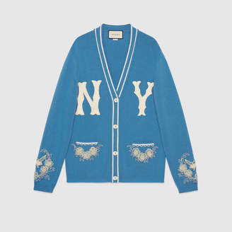 Gucci Wool cardigan with NY YankeesTM patch